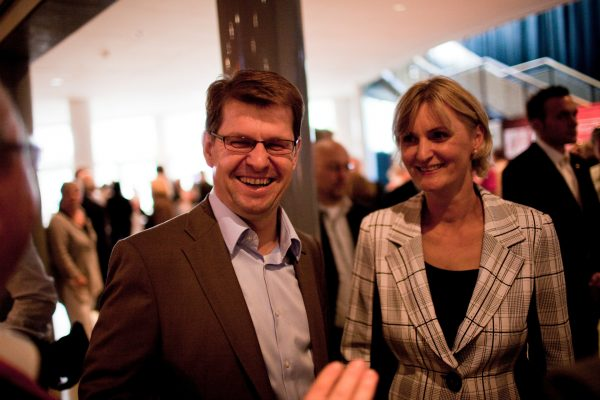 Ralf Stegner mit Frau Sibylle