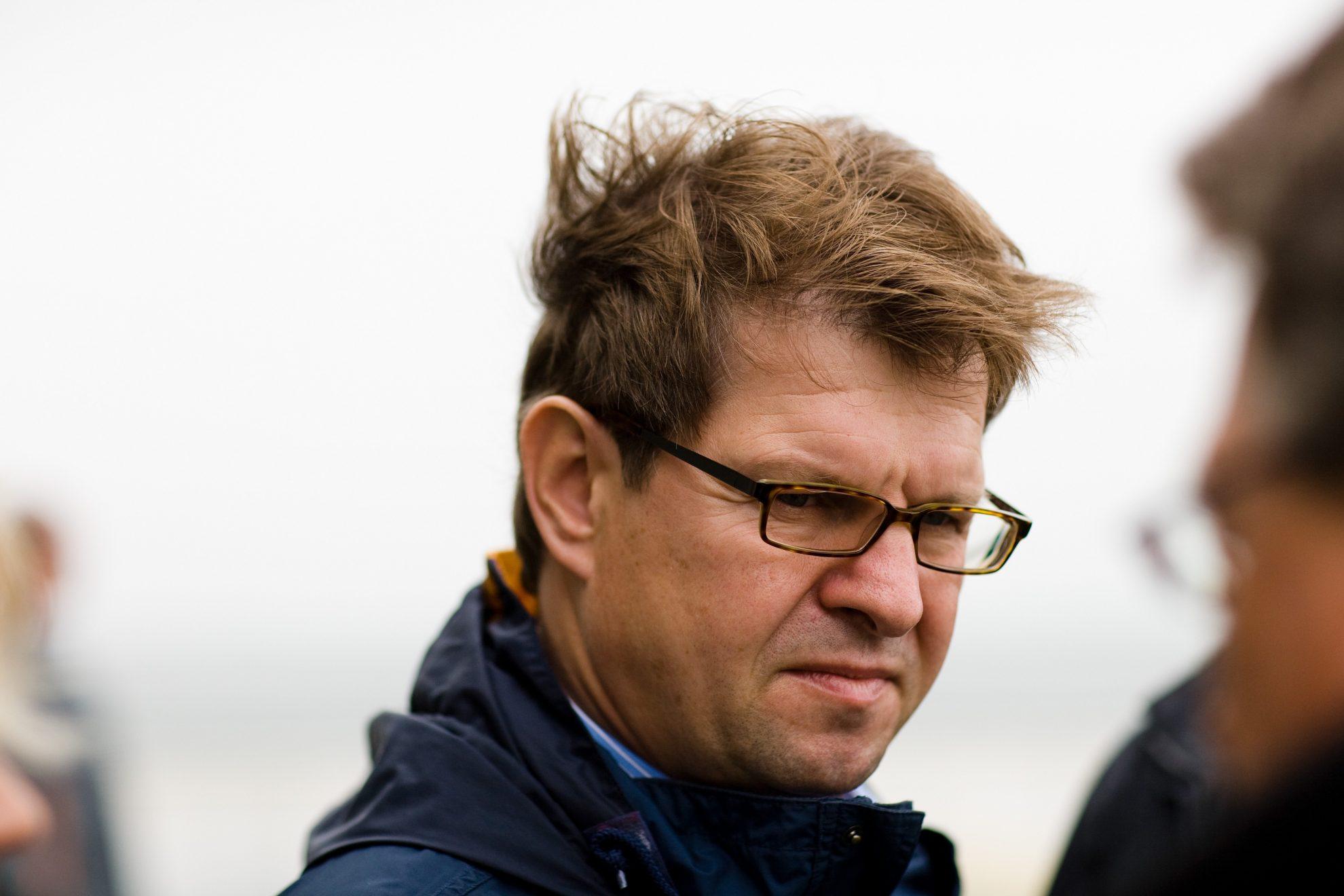 Ralf Stegner auf Amrum