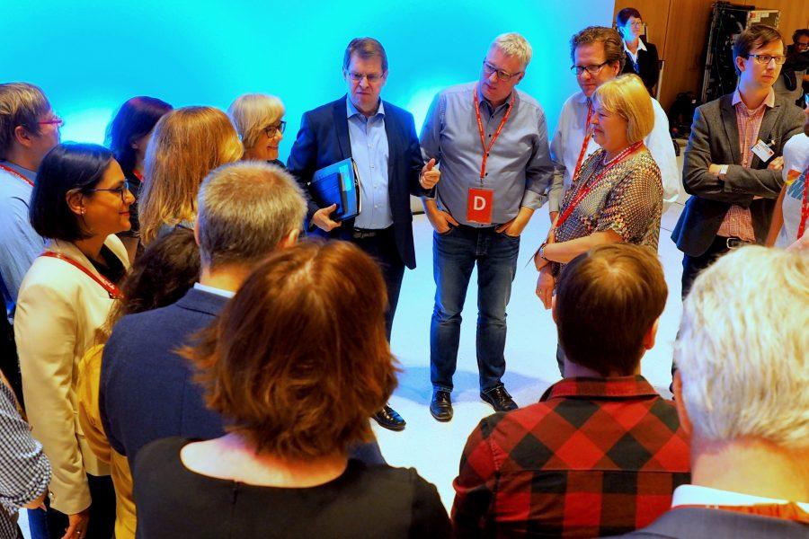 Vorbesprechung der Delegierten aus Schleswig-Holstein