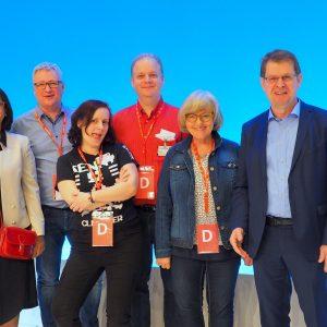 Delegierte aus dem Kreisverband Rendsburg Eckernförde
