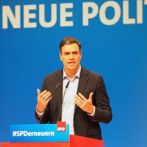 Pedro Sanchez, Parteivorsitzender der spanischen Sozialdemokraten