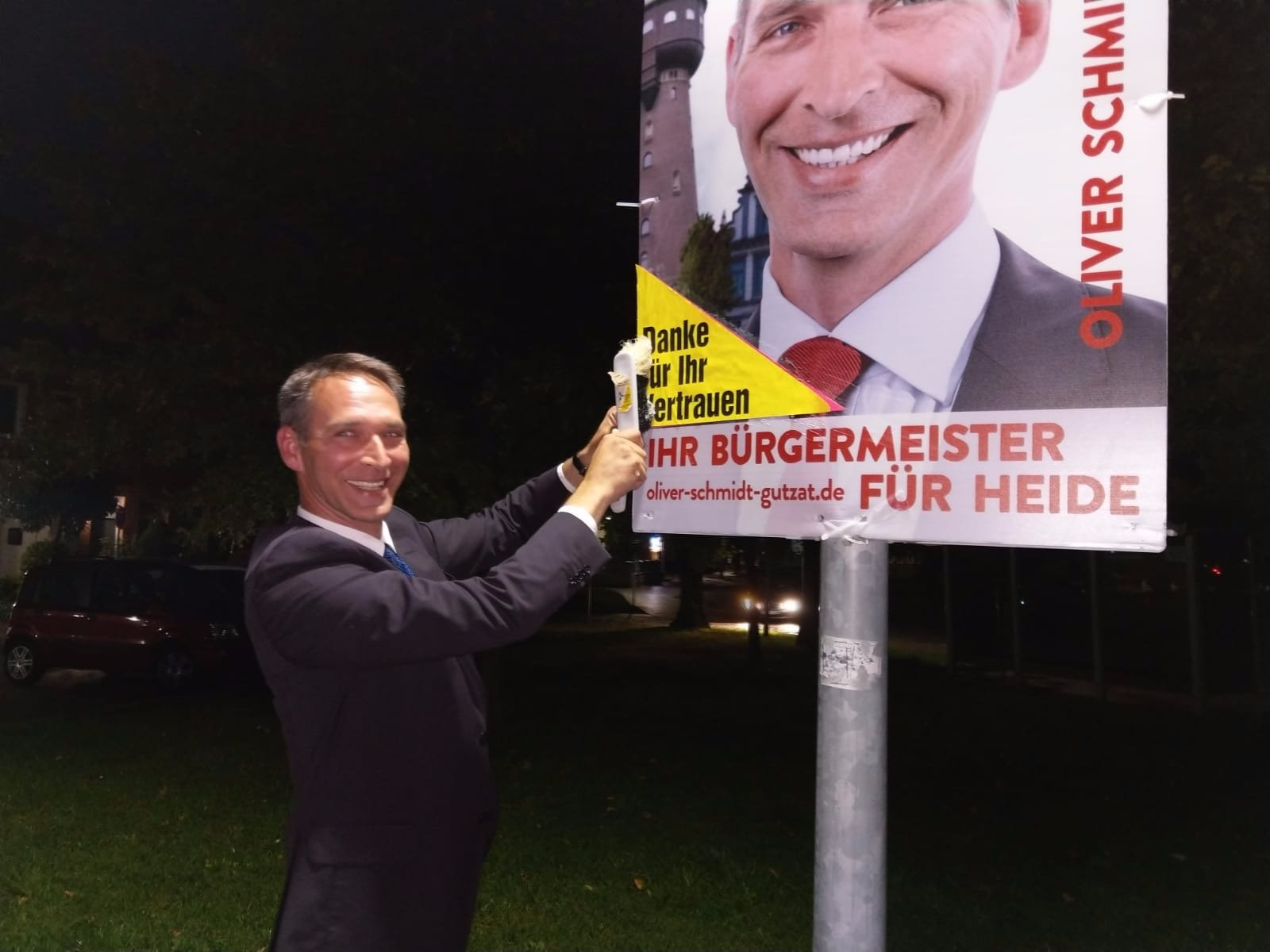Oliver Schmidt-Gutzat sagt Danke!