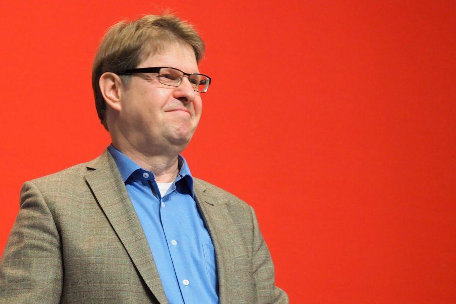 Ralf Stegner Landesparteitag in Norderstedt